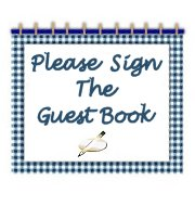 Please, sign our guestbook!!!