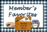 Member's Favorites Recipes